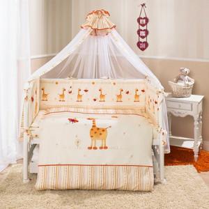 постелька кроха жирафики