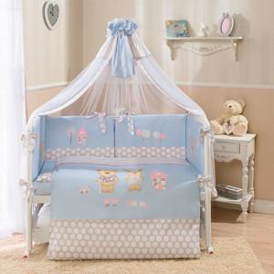 постелька венеция лапушки голубая